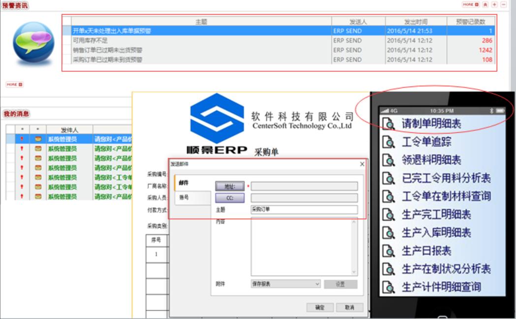 电子零件行业ERP